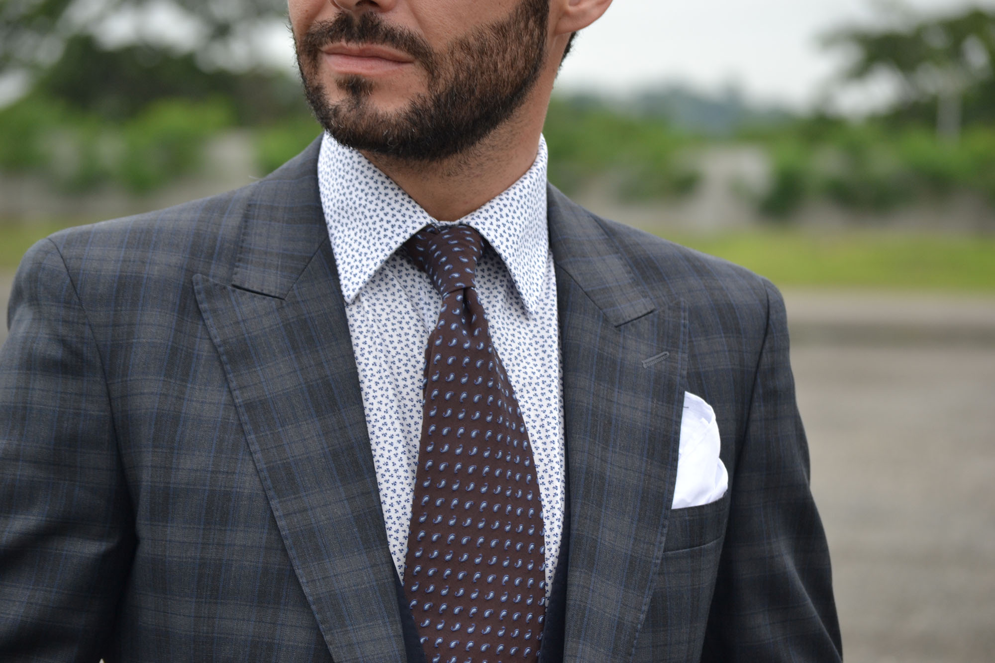 forma correcta de usar corbata